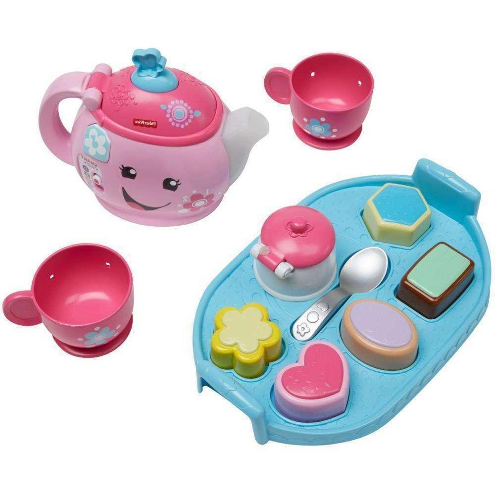 Kids Tea Party Play Set w/ Toy