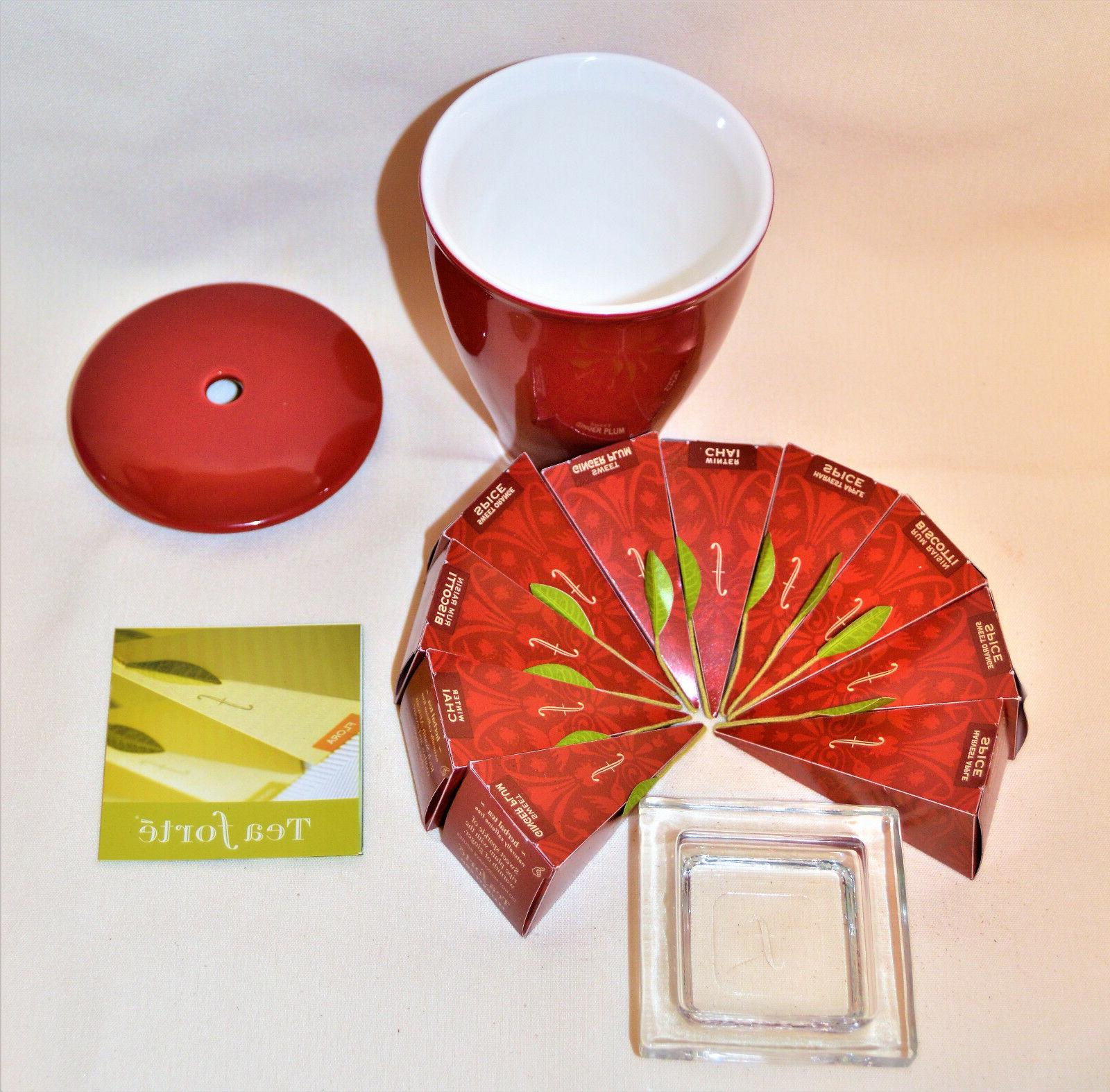 TEA WARMING JOY Limited Edition for one Set