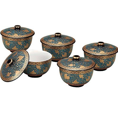 yaki yunomi japanese teacup set