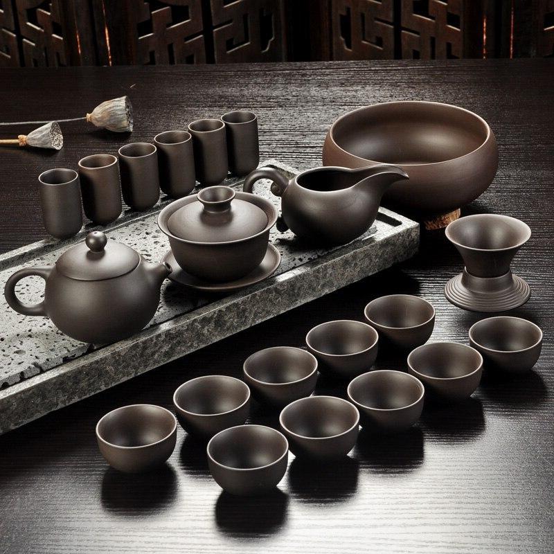 yixing purple sand tea font b set