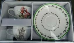 Disney Lady and the Tramp Tea Cup Saucer Set Lunch Box Exclu