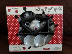 LADY BUG TEA SET BY SCHYLLING - QUALITY 13 PIECE MAKE BELIEV