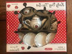 LADYBUG Children's Porcelain 13 piece TEA SET by Schylling i