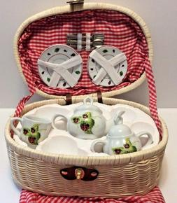 Delton Ladybug Kids Tea Replacement Set Missing 3 Pieces Tea