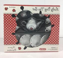 LADYBUG PORCELAIN TOY TEA SET GIRLS PLAYTIME SCHYLLING