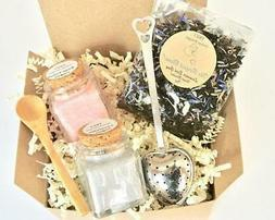 Lavender Earl Grey Tea & Sugar Gift Set, Lavender