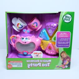 Leapfrog Musical RAINBOW Tea Set PARTY SUPPLIES Burgundy Toy
