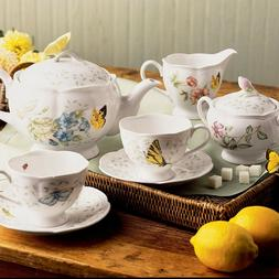 Lenox Butterfly Meadow 9-Piece Tea Set
