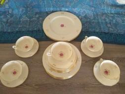 Lenox Rhodora Tea Set