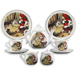Little Red Riding Hood Large Tea Set in Box