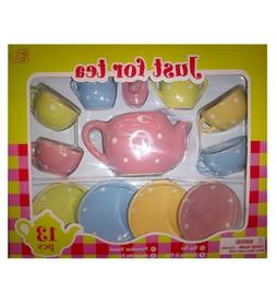 Lollipop Toy Porcelain Tea Set Kids Girls Pretend & Play 13