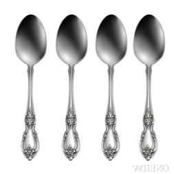 Oneida Louisiana Fine Flatware Set, 18/8 Stainless, Set of 4