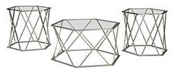 Ashley Furniture Signature Design - Madanere Contemporary 3-