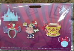 March 2020 Disney Minnie Mouse The Main Attraction Mad Tea P