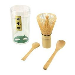 Matcha Set Chasen Tea Whisk + Bamboo Scoop + Tea Spoon S-370