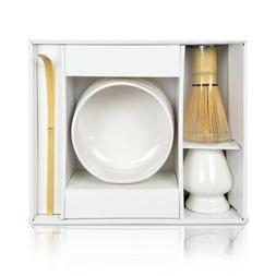 matcha starter set white 4 pcs tea
