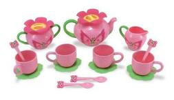 Melissa & Doug Sunny Patch Bella Butterfly Tea Set  - Play F