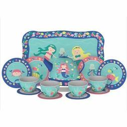 Mermaid Tin Tea Set - Kitchen Play by Schylling