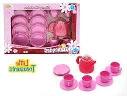 Little Treasures Mini Tea Party Set Pretend Play Toy Tea Set