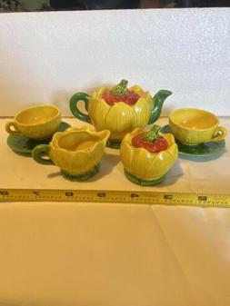 Mini Tea Set, 9 Pieces,