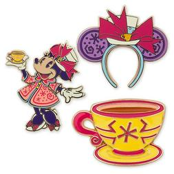 DISNEY Minnie Mouse: The Main Attraction 3PC Pin Set –  Ma