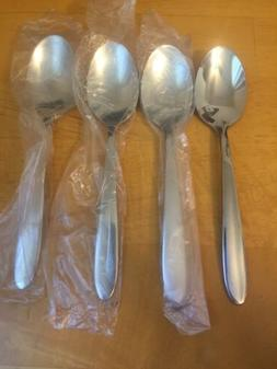 Oneida MOONCREST Glossy Stainless Flatware -- Set of 4 Oval