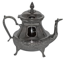 Tea Serving Moroccan Serving Tea Pot Handmade Silver Platted