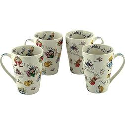 "Cardew Design""Alice Through The Looking Glass"" Mug , 15 oz,"