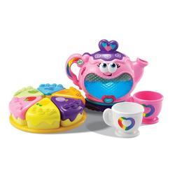 LeapFrog Musical Rainbow Tea Set Baby & Toddler Toys › Mus