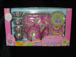 Musical Tin Tea Set - I'm a Little Tea Pot Song Kitchen Play