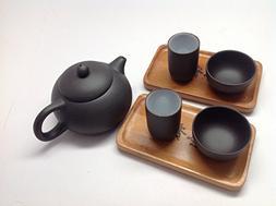 MusicCityTea Yixing Tea Set 4oz Tea Pot 7pcs Best Seller