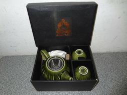 New Teavana30 Oz  DISCONTINUED5 pc Ceramic Tea Set in or