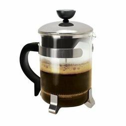 NEW Primula 4 Cup Classic Coffee Press, Chrome FREE2DAYSHIP
