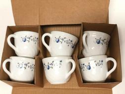 NEW 6 Piece White Floral Tea Set