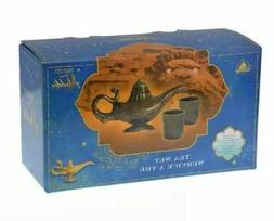 New Disney ALADDIN MOVIE Tea Set Genie Magic Lamp 1 Teapot A