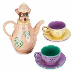 NEW! Disney Parks Dormouse Tea Set Alice in Wonderland Teapo