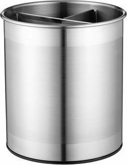 Extra Large Stainless Steel Kitchen Utensil Holder - 360°