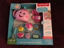NEW Fisher-Price Laugh and Learn Sweet Manners Tea Set GREAT