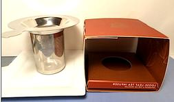 NEW TEAVANA Stainless Steel Loose Leaf Tea Infuser Strainer