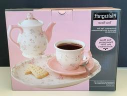 NEW Vintage Pfaltzgraff Tea Rose 20th Anniversary Tea Set 02