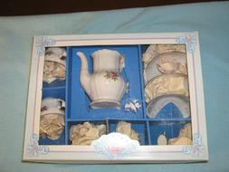 New Vnge Kahla fine porcelain toy tea set for little girls-G