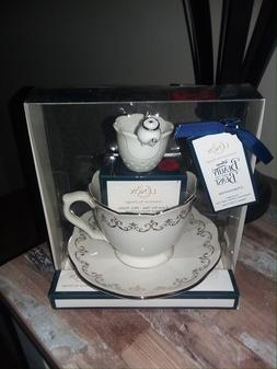 NIB Lenox Beauty and the Beast Mrs Potts Time for Tea Teacup