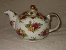 Royal Albert Old Counrty Roses Classic China Teapot