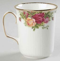 ROYAL ALBERT OLD COUNTRY ROSE BRISTOL BEAKER MUGS. MADE IN U