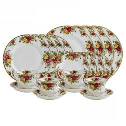 Royal Albert - Old Country Roses - Four 5 Pc Place Settings
