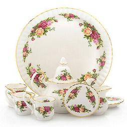 Royal Albert Old Country Roses Le Petite 9-Piece Miniature P