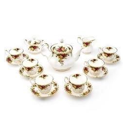 Royal Albert Old Country Roses 15 Piece Tea Set