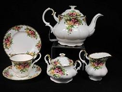 Old Country Roses 23 PIECE TEA SET BY SUCCESS