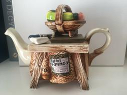 Cardew One Cup Teapot Potter's/Gardener's Table with Box 4 1