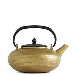 Orbits Tatara Gold Cast Iron Teapot by Teavana